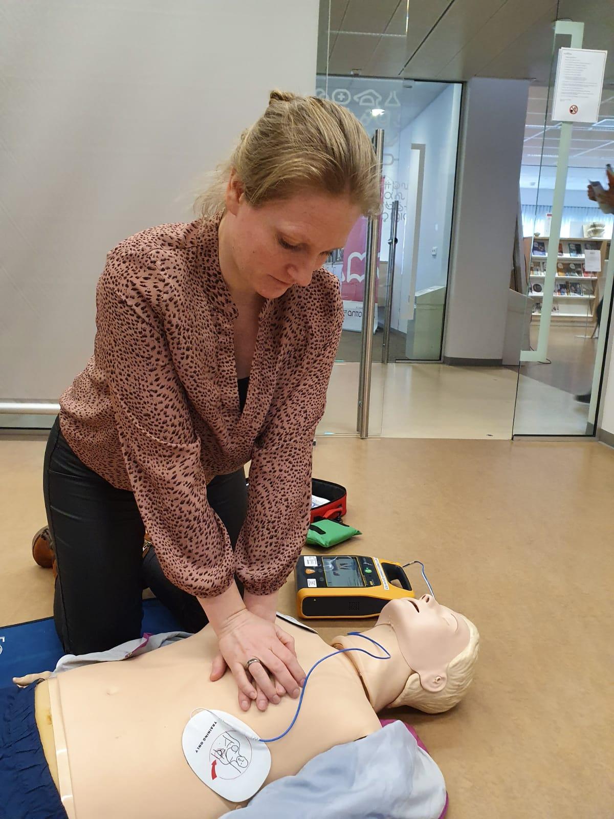 reanimeren met behulp van een AED